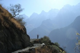Door de Tiger Leaping Gorge