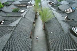 Langzhong en Chongqing