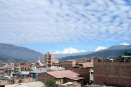 Hoog in Huaraz!