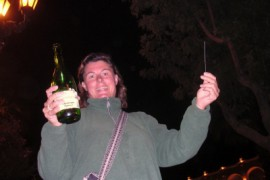 Feliz Ano Nuebe in Arequipa