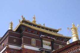 De overland naar Nepal - van Gyantse naar Shigatse