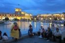 Yerevan - Drukte bij het Republic Square