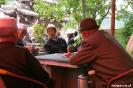 Songpan - Kaarten in<br />het teahouse