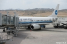 Xining - aankomst op vliegveld