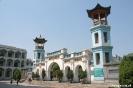 Xining - entree gebedsplein grote moskee