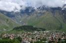Kazbegi - Plaatsje<br />in de bergen