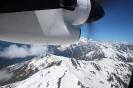 Mestia - Vliegen tussen de bergen