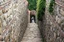 Sighnaghi - Bodbe klooster, trap naar de bron