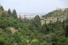 Tbilisi - Botanische tuin richting het centrum