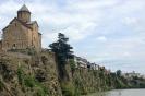 Tbilisi - Metheki<br />kerk aan de Mtkvari<br />rivier
