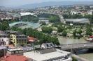 Tbilisi - Mktvari rivier met Peacebridge