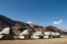 Manali naar Leh, tentjes in het kamp.