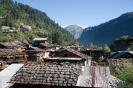 Manali, uitzicht over Old Manali