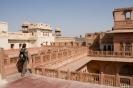 Bikaner, op het dak van het Junagarh fort