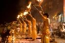 Varanasi, Avondviering bij de Dasaswamedh ghat