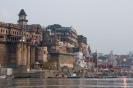 Varanasi, langs de ghats in Varanasi