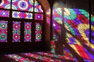 Shiraz - De kleuren bij de Nasir al Molk moskee