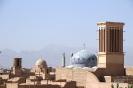 Yazd - Over de daken in de oude stad