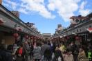 Tokyo - Drukte richting Sensi Ji tempel
