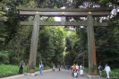Tokyo - Poort naar  Meiji-Jingu tempel