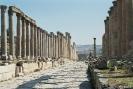 Jerash - Straat in deze oude romeinse stad