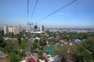 Almaty - Uitzicht over de stad