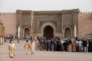 Meknes - El Hedim plein, Bab El Mansour poort