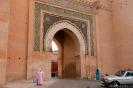 Meknes - Fraaie poort in de stadsmuur