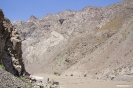 Bartang vallei - Terug bij de hangbrug