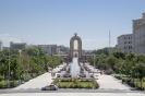 Dushanbe - Brede wandel avenue