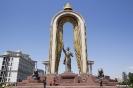 Dushanbe - Ismoil Somoni monument