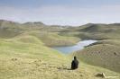 Peak Lenin - Groene heuvels