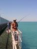 WA - Broome, vissen op de pier