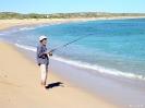 WA - Carnarvon, vissen in de baai