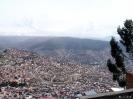 La Paz - Uitzicht<br />over de stad
