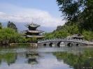 Lijang - Doorkijkje<br />in het stadspark van<br />Lijang