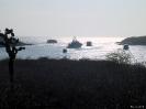 Galapagos - Drukte in een beschutte baai