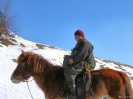 Mongolië - Schaapherder in Terelj national park