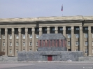 Mongolië - Sukhbatarplein met parlementsgebouw