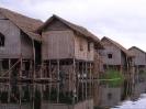 Inle Lake - Paalwoningen bij Inle