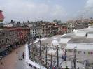 Kathmandu - Plein rond de Bodnath tempel