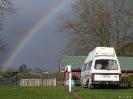 Het campertje onder de regenboog