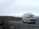 Tongariro - Het bussie op de vulkaan