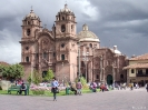 Cusco - Nog een kerk bij het plaza