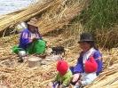 Lake Titicaca - Bij de Uros bevolking