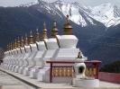 Zhongdian naar Lhasa - Chortens op een rijtje