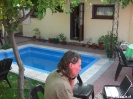 Mendoza - Skype by the pool...