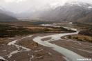 El chalten - Los<br />Glacieres Nat. park<br />- rivier nabij El<br />Chalten