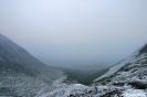 Ushuaia - Glaciar<br />Martial - (geen)<br />uitzicht op het<br />Beagle kanaal