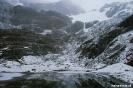Ushuaia - Glaciar Martial - uitzicht op de gletsjer